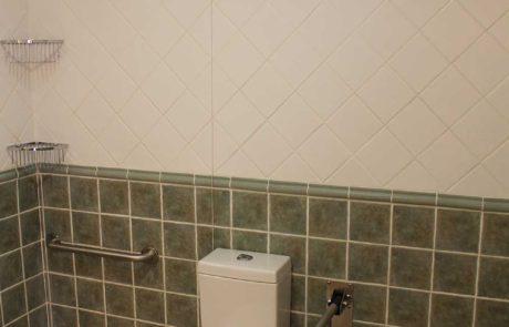 Baño interior de las habitaciones