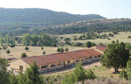 Cara Oeste de la residencia