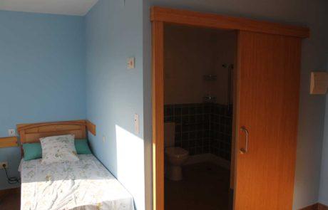 Habitación doble de la residencia