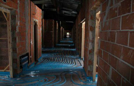 Instalación del suelo radiante